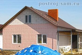 Правильное утепление стен дома снаружи своими руками