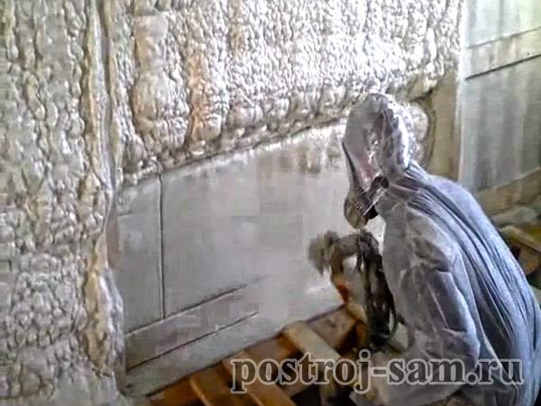 утепление стен дома снаружи пенополиуретаном