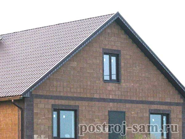 Крыша дома с фото